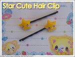 Star Cute Hair Clip by AyumiDesign