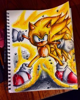 Ssj3 sonic by xprotector10
