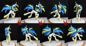 Rainbow Power Princess Vinyl Scratch by VIIStar