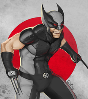 Wolverine :X Force Costume: by Giando1611990
