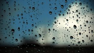 raindrops on glass by blackasmodeus