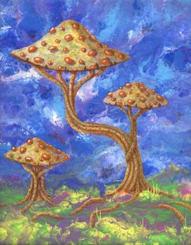 a wonderous fungus by anuvys