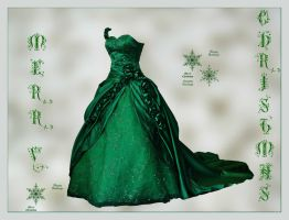 Couture Gown by PrincessInHeaven