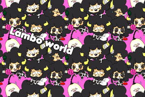 Lambo world by Natsuhati