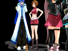 Someone Dropped His Ice Cream (MFV2)-Kaito, Meiko by Lily-the-Vocaloid
