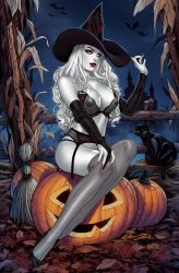 Lady Death Halloween Naughty Witch by Elias-Chatzoudis