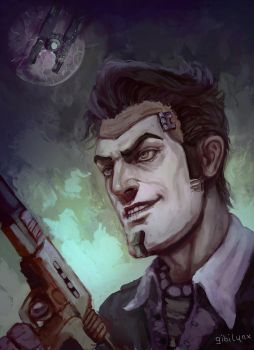 Handsome Jack by GibiLynx