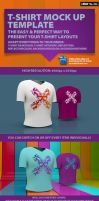 T-Shirt Mock Up Template by design-on-arrival