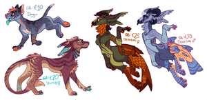 Adoptables 2018-03-05 by LiLaiRa