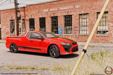 2015 Ford Pursuit Ute HE by melkorius