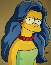 Marge Simpson by herbalcell