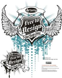 Free to Design Vector by artamp