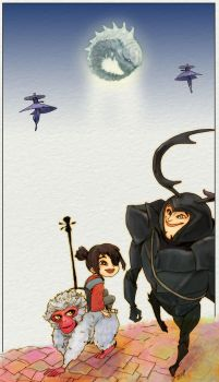 Kubo and the two strings by 510gotoo