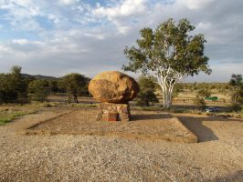 Alice Springs - John Flynn's Grave by TricoloreOne77