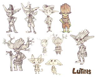 Research for lutins by Leamlu