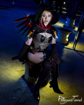 AX17 - Witch Mercy by BlizzardTerrak