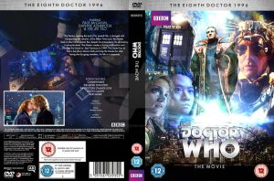 Doctor Who The Movie Custom DVD Cover by GrantBattersby