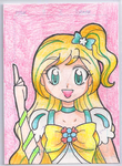 Cure Summer Art Trading Card by darlychan