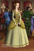 Belle in the French Court by LadyAquanine73551
