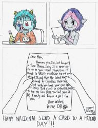 National Send a Card to a Friend day by CelmationPrince