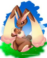 Lopunny by chacrawarrior