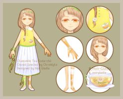 Chamomile Tea Soda-chii [ADOPT][AUCTION OPEN] by Noir-Gladia