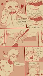 Miraculous LadyBug Comics-LB's First Nosebleed pg2 by redEIV