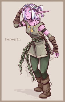 Peregrin the Explorer by SkyDrew