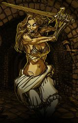Zombie Queen from the crypts! by zelldweller