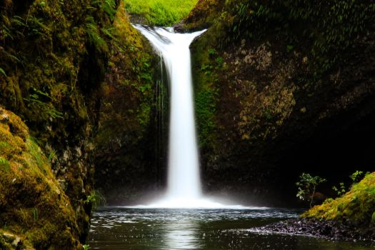 Punchbowl Falls #2 by KRHPhotography