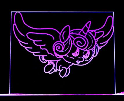 Flurry Heart LED Picture by steeph-k