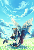 Commission - Ryou by corvidart