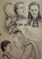 Sketch Loki by Juli556