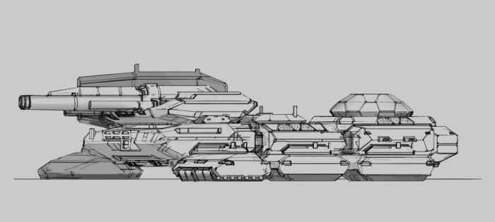 'Behemoth' Terrestrial Dreadnought (incomplete) by Leonitus
