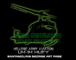 UH-1H HUEY GREEK ARMY V.2 by SANTAMOURIS1978