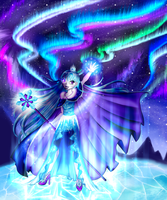 [Miss Magix Round 5] The Nothern Lights by Lisari-Neon