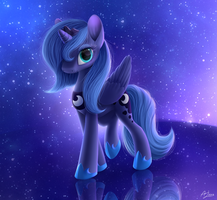 Young Luna by LuminousDazzle