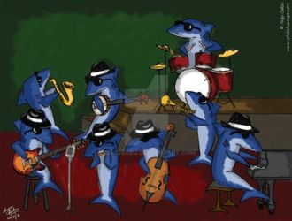 Blues Band by anjusabu