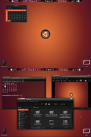 November Desk, Ubuntu 10.10 by Rasa13