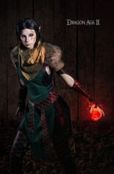 Merrill 4 - Dragon Age II cosplay by LuckyStrikeCosplay