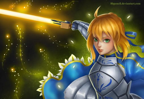 Sword of Promised Victory by 8Bpencil