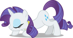 Rarity Bowing by pokerface3699