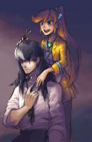 Ace Attorney: Haircut by ahnline
