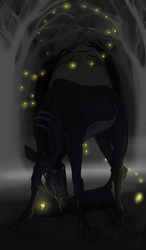 Leslie   Stag   Witch by SunsetRevelation
