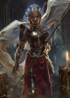 Jeanne d'arc by Ron-faure