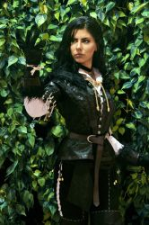 Yennefer of Vengerberg The witcher 3 by Queen-Azshara