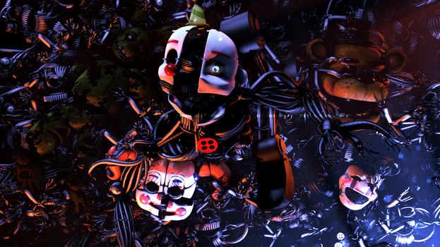 Let Yourself Into Darkness by marionetteloverfnaf