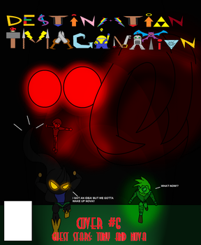 DI Comic Cover #6 The Shadow Demon Rodeo by Thesimpleartist4