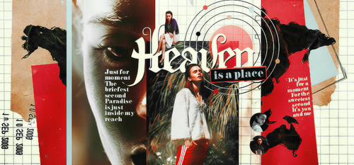 Heaven Is A Place Header by Ash. by 1Dhazboo