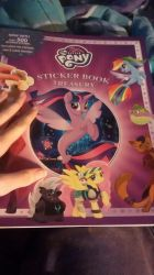 MLP Stickerbook w/500 Stickers and 3 Posters by iLoveCreativity14